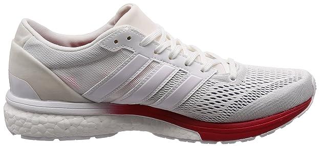 newest 5d6a0 9b3ba Adidas Adizero Boston 6 Aktiv, Zapatillas de Deporte Unisex Niño, Azul  (MaruniFtwblaRoalre 000), 36 EU Amazon.es Zapatos y complementos