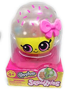 Shopkins Squeezkins Cupcake Queen Squeezable Gel Figure