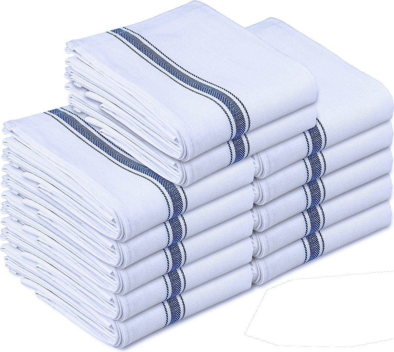 Kitchen Towels Dish Cloth 12 Pack Savings Guru