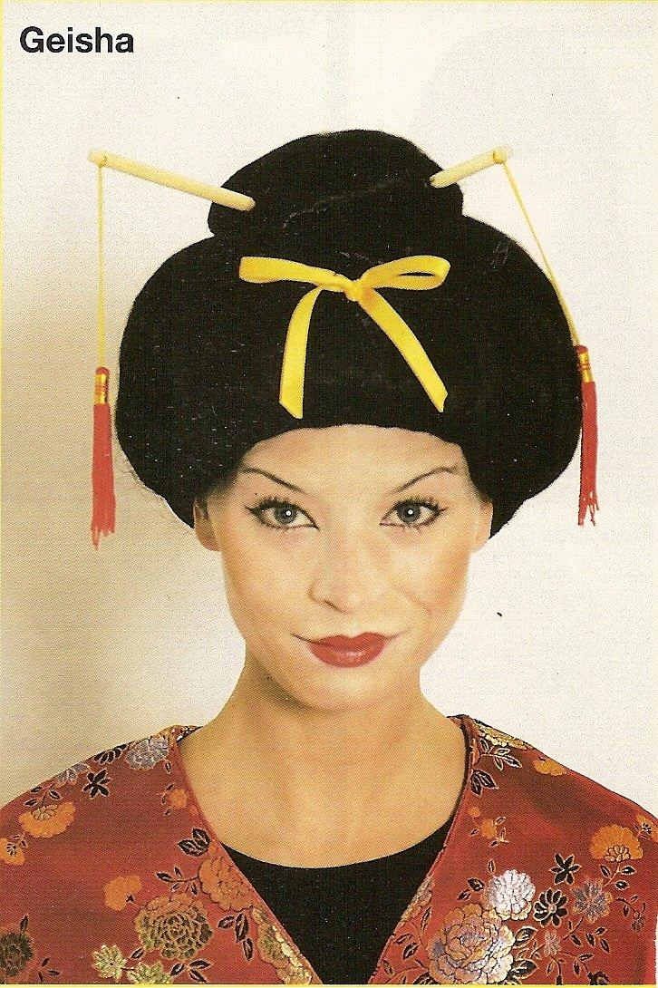 Peluca de geisha: Amazon.es: Hogar