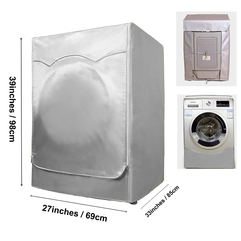 Amazon.com: Cubierta para lavadora y secadora para máquina ...