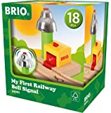 Brio 33707 My First Railway Bell Signal Train Set