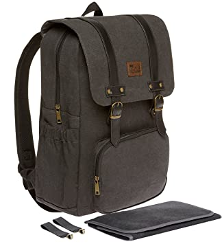 pretty cool reputable site new appearance Diaper Bag Backpack - Black W/Baby Changing Pad and Stroller Straps by Hip  Cub