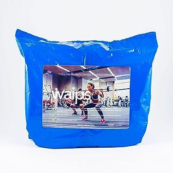 WAIPS recambio toallitas higiénicas y desinfectantes (1000 toallitas): Amazon.es: Deportes y aire libre