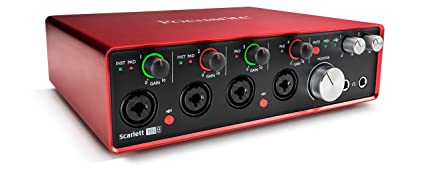 Amazon.com: Focusrite Scarlett 18i8 (2nd gen) USB interfaz ...