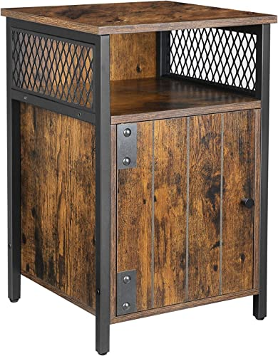 VASAGLE ALINRU Bedroom Nightstand - a good cheap modern nightstand