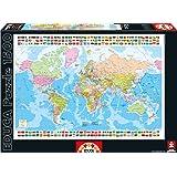 Puzzles Educa - Puzzle Mapa Del Mundo, 1500 piezas (16301)
