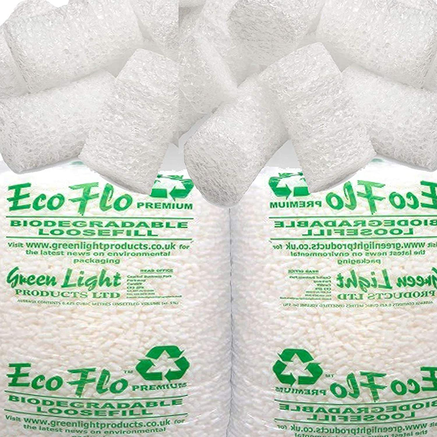 1 Large Bag 15 CUBIC FEET 100/% Recycled Protective Postal Mailing Packaging Packing Void Loose Fill Filler Filling Supplies Of Flopak Polystyrene Foam Packing Peanuts