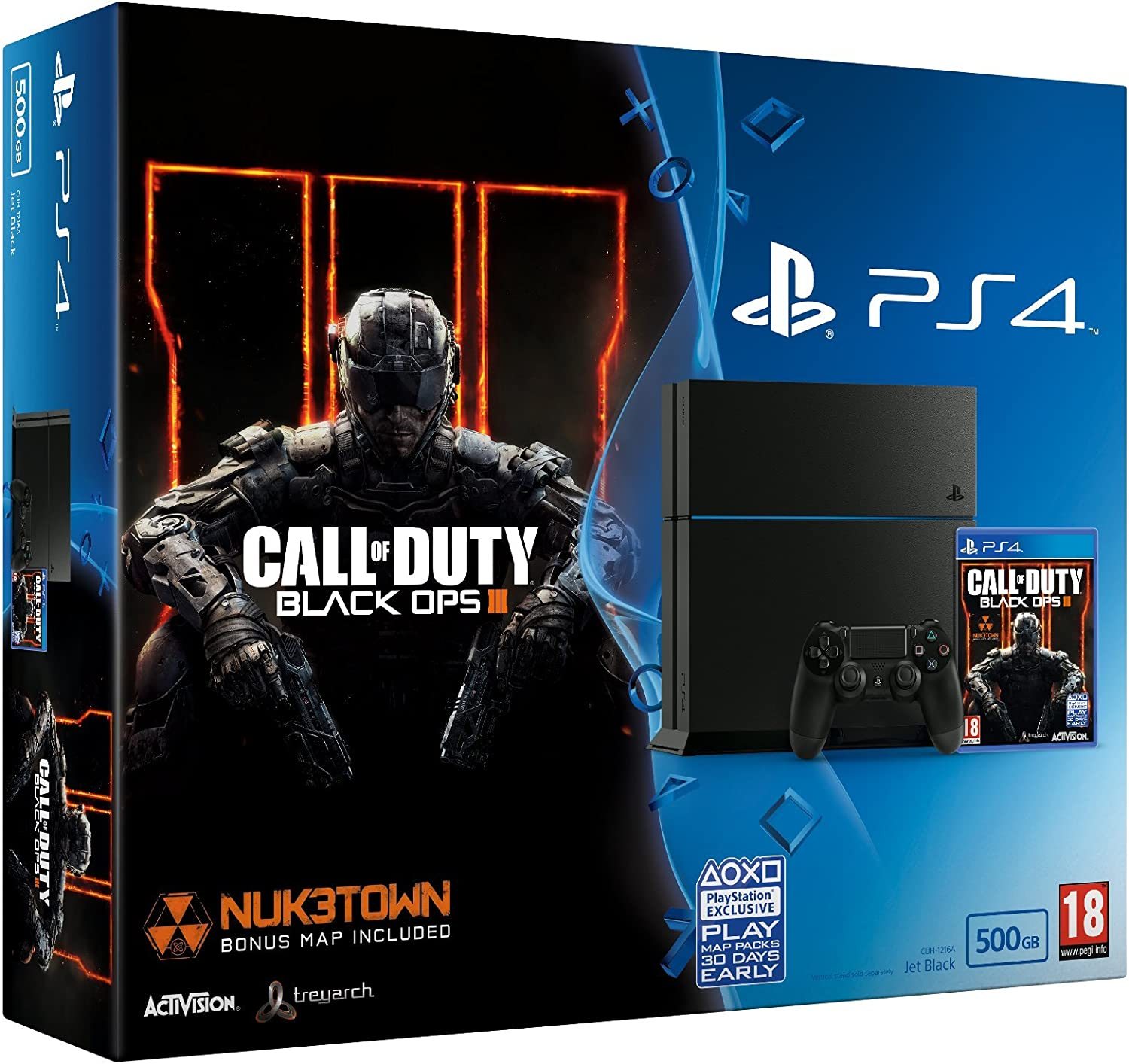 Sony Playstation 4 500GB With Call Of Duty: Black Ops 3 ...