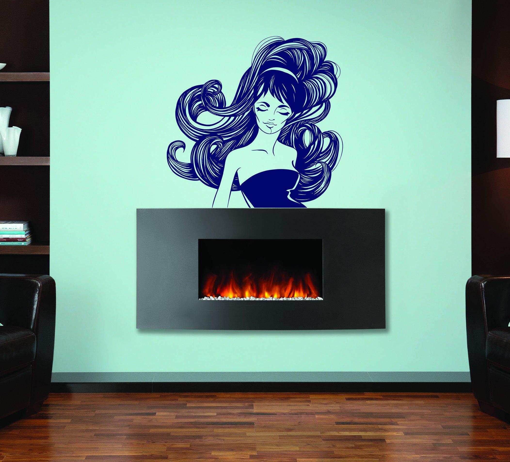 Beautiful Woman Beauty Salon Spa Kids Room Children Stylish Wall Art Sticker Decal G8085