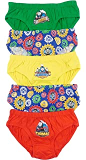 Boys 3 Pack Vest Tops Underwear Thomas The Tank Engine
