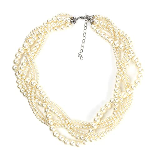 0789539b9e459 United Elegance Faux Pearls 1 - Classic & Timeless Jewelry Sets, Necklaces,  Bracelets, Earrings with/Without Swarovski Style Crystals