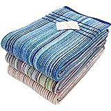 林(Hayashi) バスタオル マルチカラー バスタオル(3枚セット) トルコ製残糸 エコブール BH700400-3 3枚入