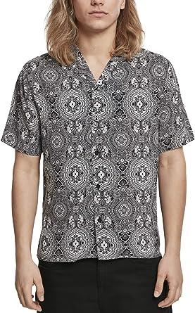 Urban Classics Viscose Resort Shirt Camiseta para Hombre: Amazon.es: Ropa y accesorios