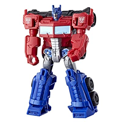 Transformers Cyberverse Scout Class Optimus Prime: Toys & Games