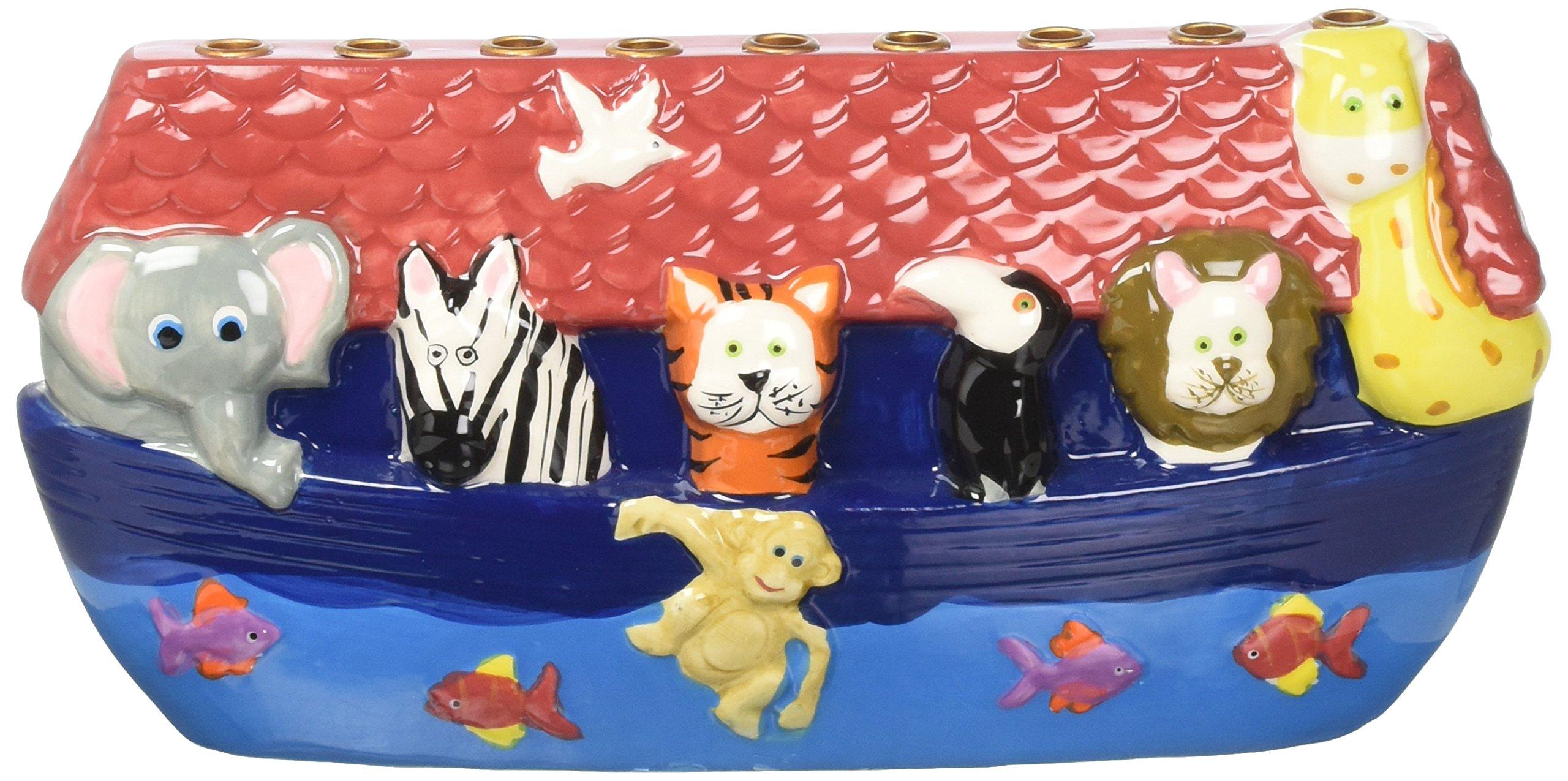Rite Lite LTD Noah's Ark Ceramic Menorah