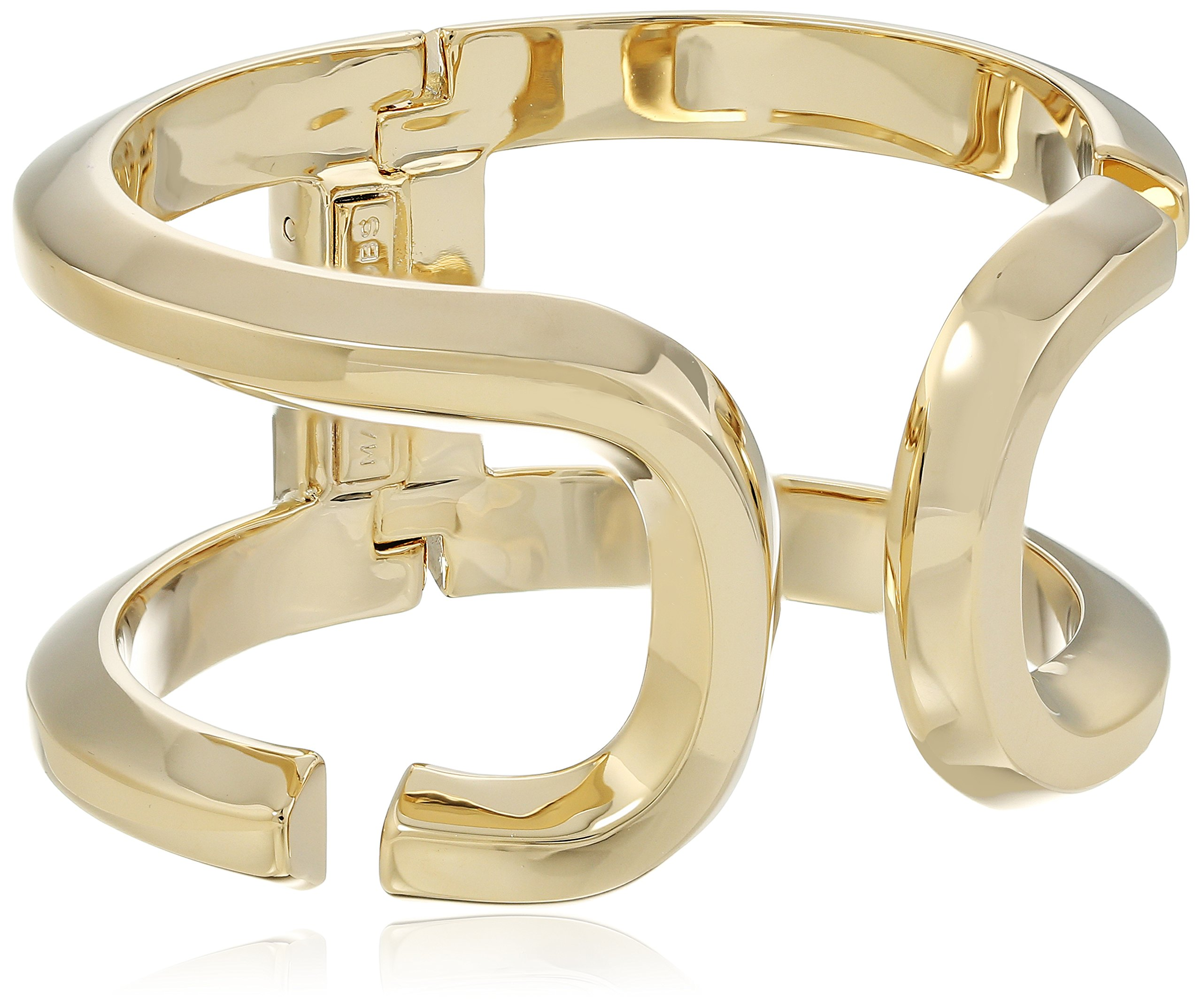 Marc Jacobs ''Fall 2016'' Icon Open Hinge Cuff Bracelet