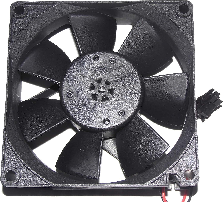 MMF-08D24ES-AN7 Fan 24V 0.13A 80*80*25mm 2-wire Cooling Fan
