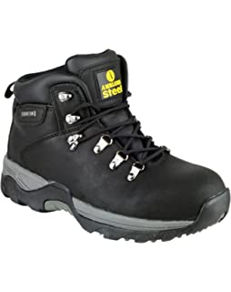 Grafters Adult M437 Safety Boots M437A 4 UK Black ajUFBhynO