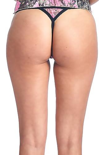6410e1c2c Women s Authentic True Timber Orange Thong Sexy Camo Lingerie Panties at  Amazon Women s Clothing store