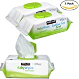 Kirkland Signature Ultra Soft Baby Wipes, Fragrance Free, 300 Counts