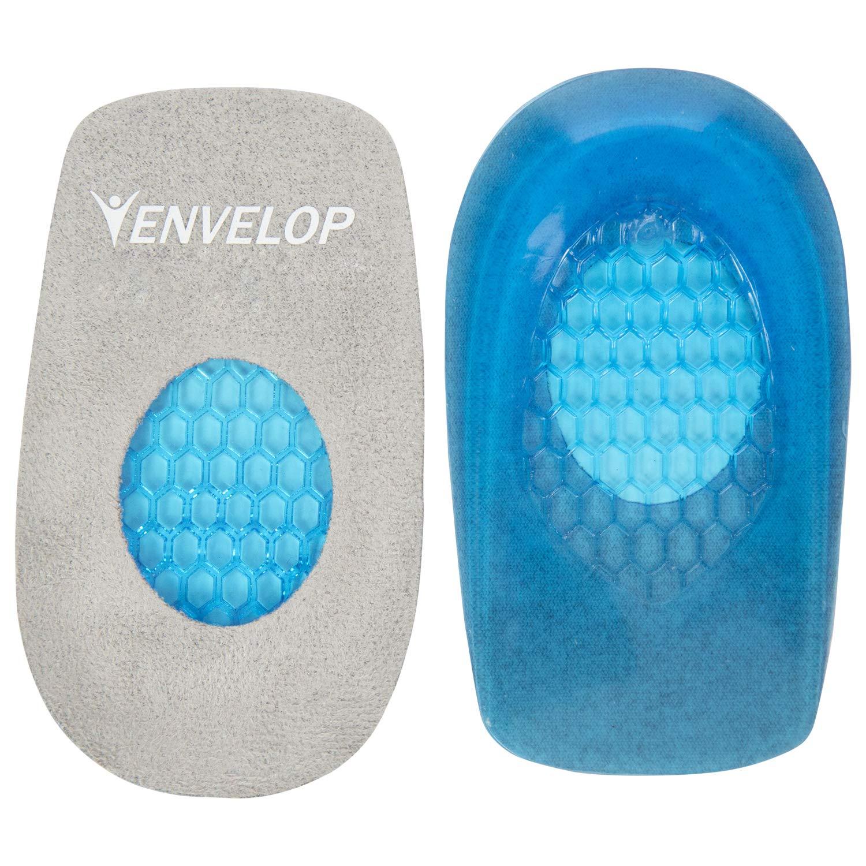 55dfdda580615 Amazon.com: Envelop Gel Heel Cups - Heel Cushion for Women, Men ...