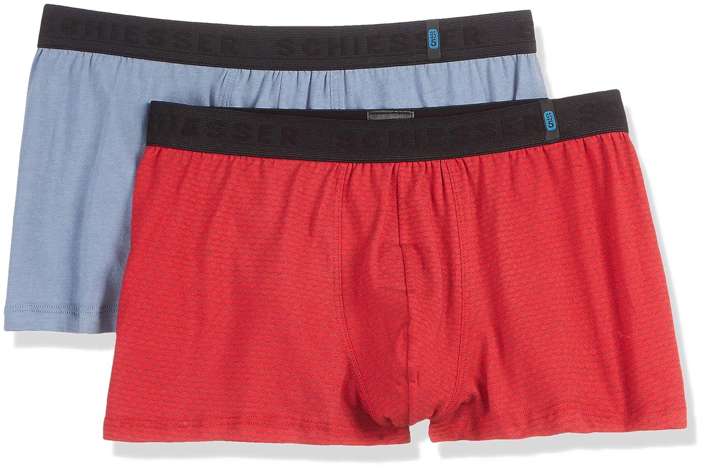 Boxer Uomo 2er Pack Box Schiesser Shorts