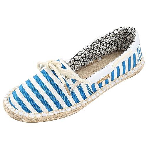 Alexis Leroy Origine Listras, Alpargatas con Cordones de Mujer: Amazon.es: Zapatos y complementos