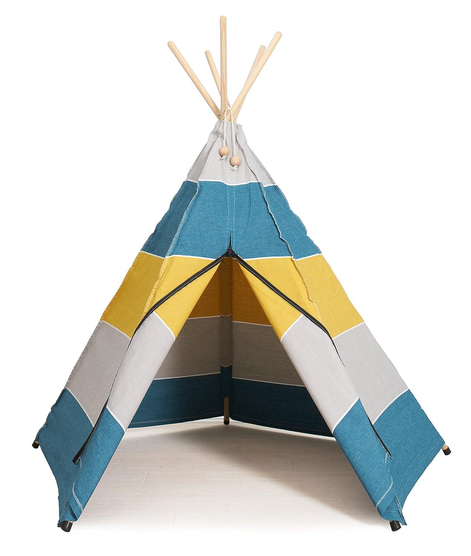 polar petroleum - Roommate Hippie Tipi - Original Hippie Tipi Kinderzelt, Indianerzelt, Spielzelt des skandinavischen Kultlabels Roommate - für Innen und Außen