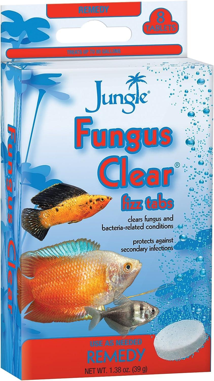 Jungle TB630W Tank Buddies Fungus Clear Tablets, 8-Count