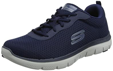 Skechers Flex Advantage 2.0, Chaussures Multisport Outdoor Homme, Bleu (Bllm), 41 EU