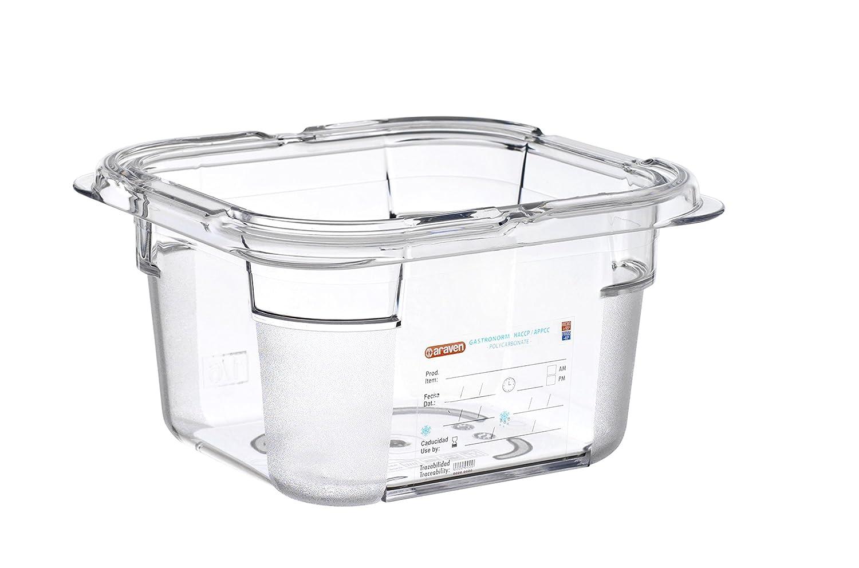 araven, 09797, Polycarbonate Food Box, 1.5 Quart