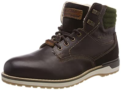 311446011600, Derbys Homme, Marron (Dark Brown), 42 EUBugatti