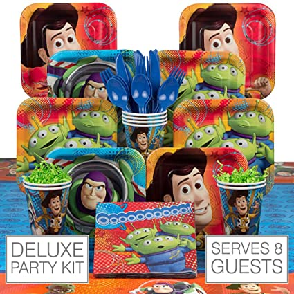 Amazon Com Toy Story 8 Guest Party Pack Toys Games