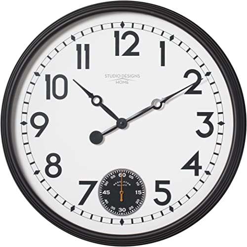 Studio Designs Home 73011 Terrace Large Wall Clock