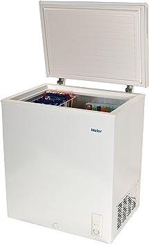 #7 Haier HF50CM23NW 5.0 cu. ft. Capacity Chest Freezer