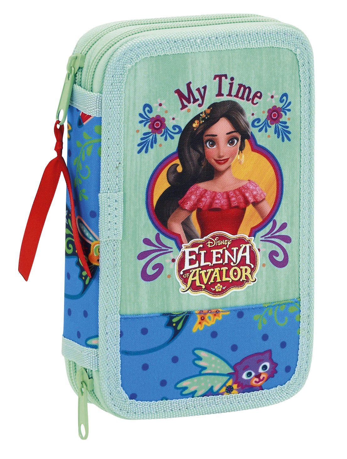 Amazon.com: Disney Elena of Avalor Double filled pencil case ...