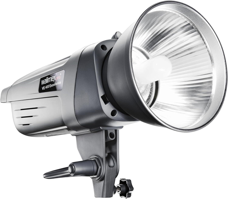 Walimex Pro Ve 400 Excellence Studioblitzleuchte Mit Kamera