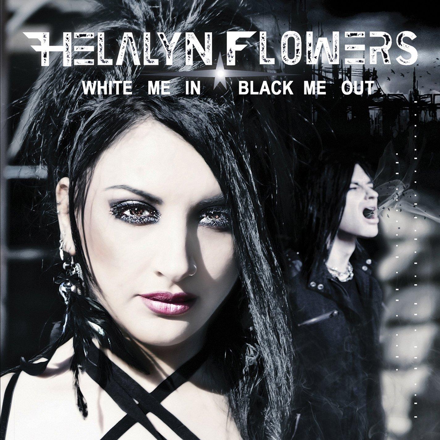 CD : Helalyn Flowers - White Me In/ Black Me Out (CD)