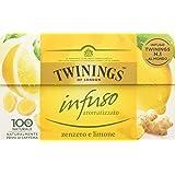 Twinings - Infuso Zenzero e Limone - 3 confezioni da 30 Grammi