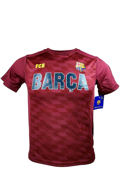 FCバルセロナメッシ10数公式ユースサッカー署名パフォーマンスPoly Jersey – i004 B074RBMBR6Youth