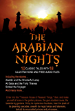 The Arabian Nights: 10 Classic Tales with 18 Illustrations and Free Audio Files. (English Edition)