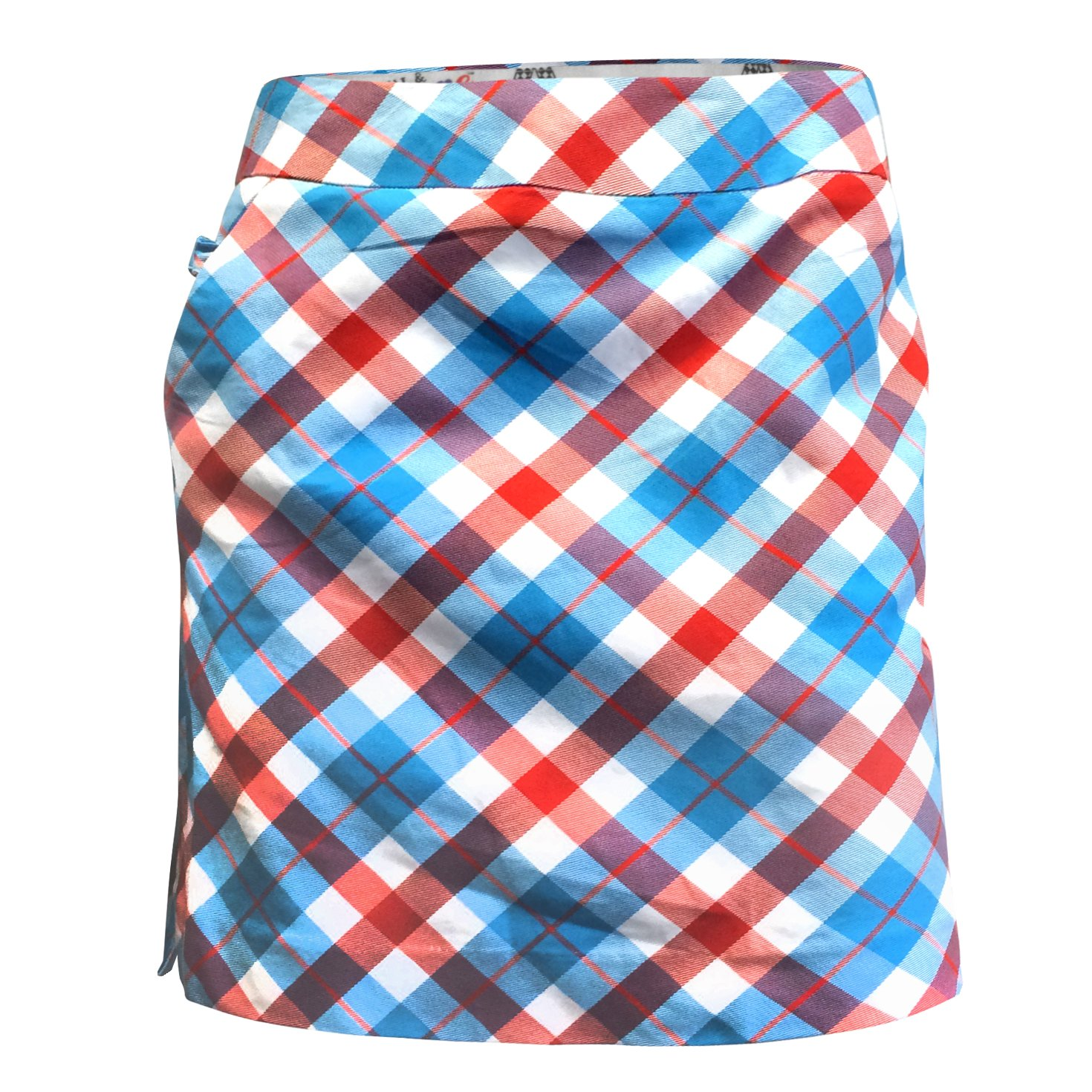 Royal & Awesome Plaid a Blinder - Falda-pantalón de Golf para Mujer