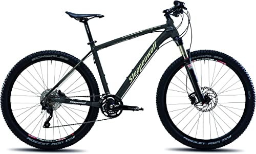 Steppenwolf Men s Tundra Pro Hardtail Mountain Bike, 27.5 inch Wheels, 16.5 inch Frame, Men s Bike, Antracite Desert Matte Black, 99 Assembled