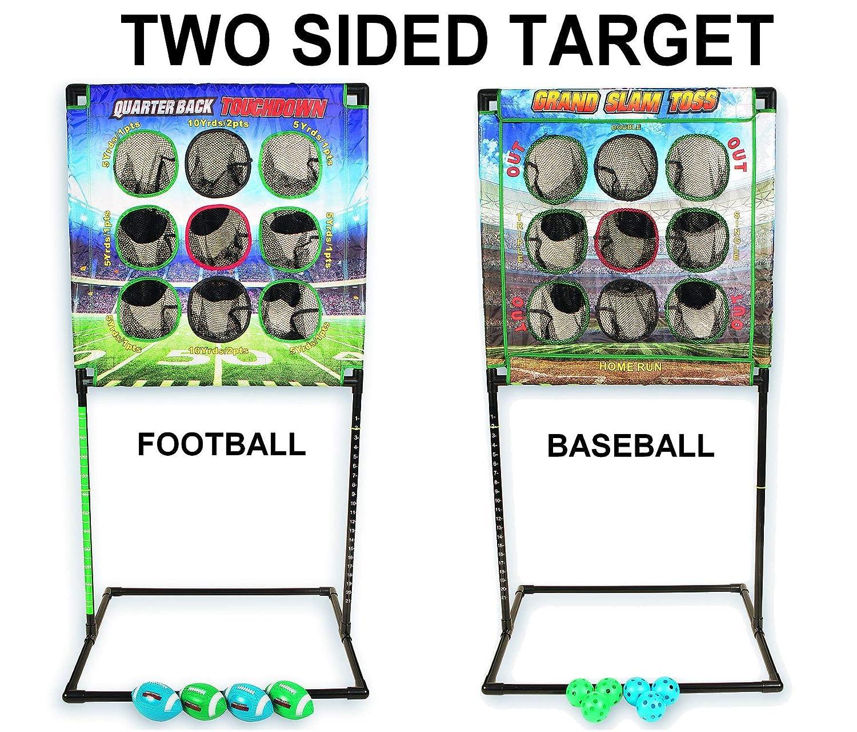 Quarterbackタッチダウン – インドア/アウトドアFootball Toss Toss B00FJC0NCO – – 4ゲームで1。ビーチにぴったり、キャンプ、テールゲート、庭、ガレージ、Man Cave、etc。。。ポータブル、/いつでもどこ。 B00FJC0NCO, 快適!暮ラシス:0f5fdc81 --- rigg.is