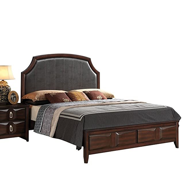 Amazon.com: Acme Muebles 24567ek Lancaster cama, rey ...
