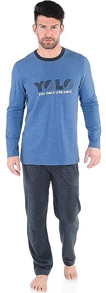 Italian Fashion IF Pijamas para Hombre Atos 0223 (Jeans, M)