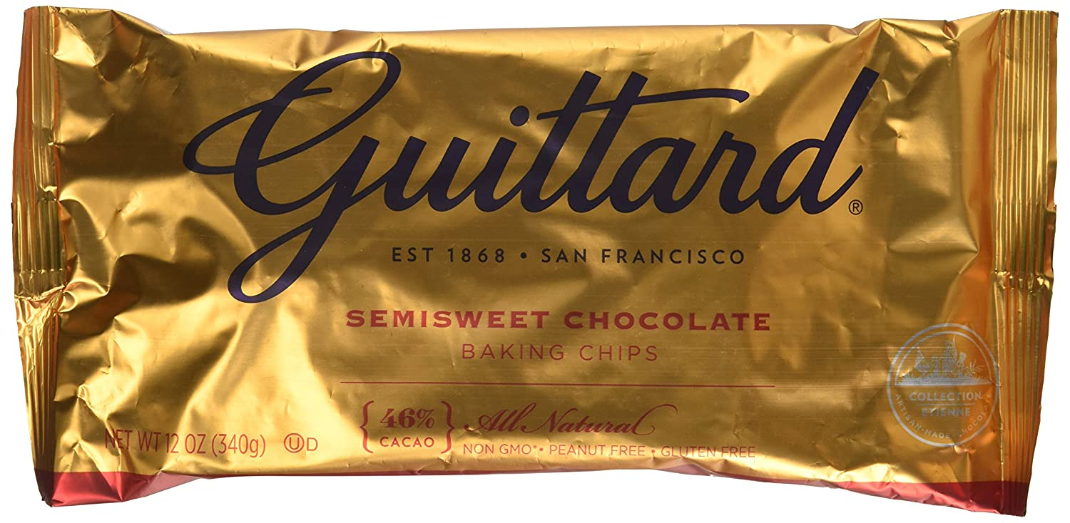 Amazon.com : Guittard Chocolate Chip Semisweet 12oz (Pack of 4 ...