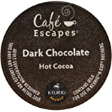 Cafe Escapes Dark Chocolate Hot Cocoa K-Cups-6.35Oz Box