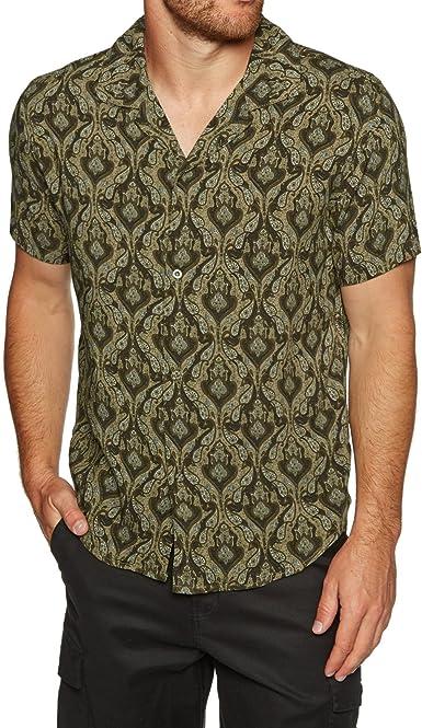 Rhythm - Camisa Casual - para Hombre Marrón Vintage Brown XS: Amazon.es: Ropa y accesorios